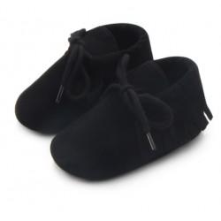 Mocassins Zwart Baby Bruin voor Jongen of Meisje