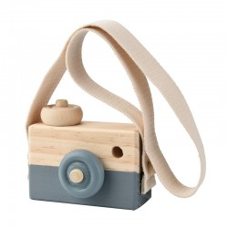Woody Camera Donker Grijs