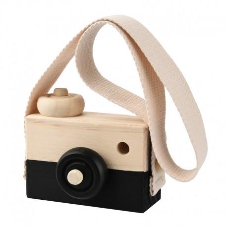Woody Camera Zwart