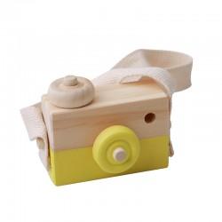 Woody Camera Geel