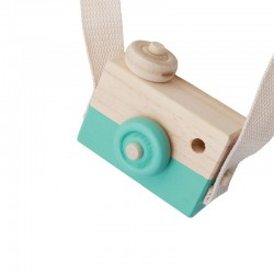 Woody Camera Sea Green
