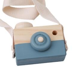 JPES Woody Camera Donker Blauw